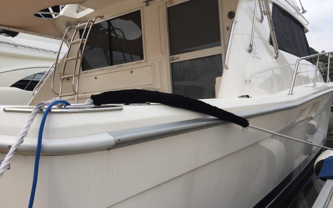 Riviera Gunwale Strip Replacement